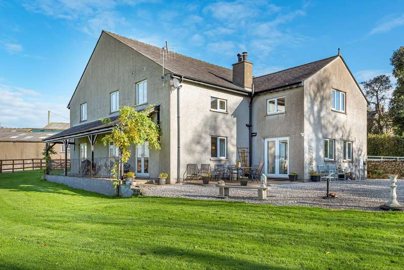 Detached House for sale in Old Hutton CUMBRIA