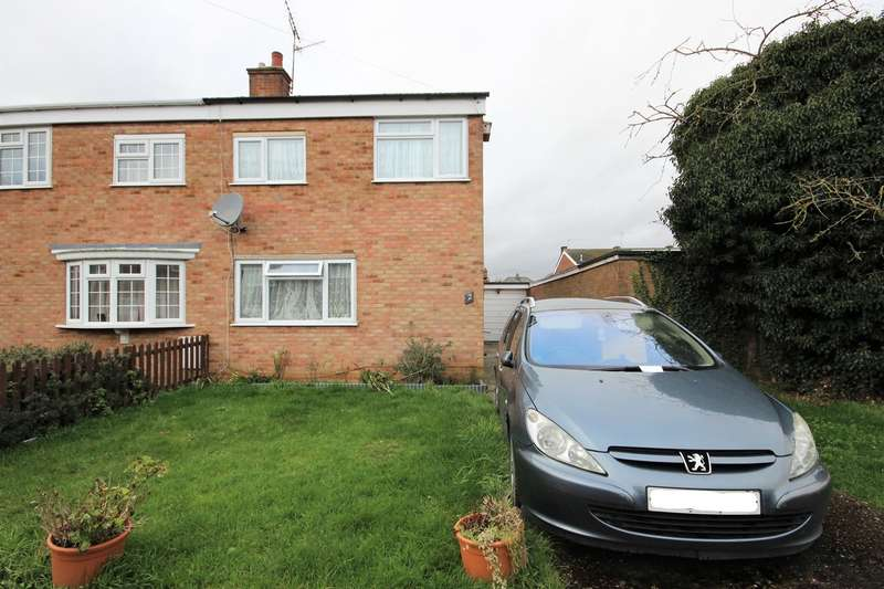 3 Bedrooms Semi Detached House for sale in Browns Close, Marston Moretaine, Bedfordshire, MK43