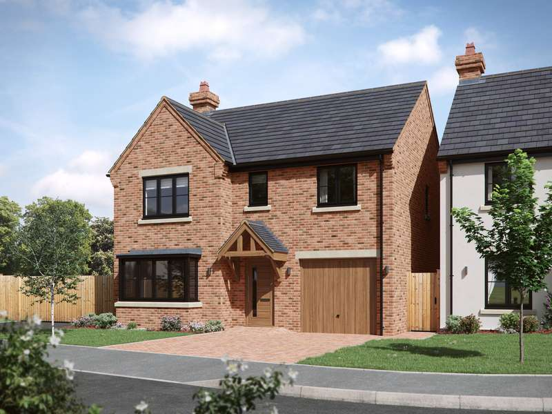 4 Bedrooms Property for sale in Berwick Close, Higher Heath, Whitchurch