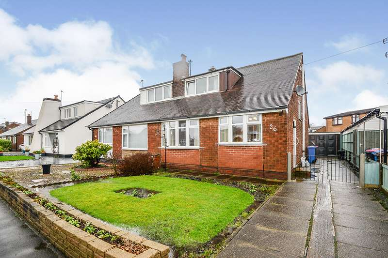 3 Bedrooms Semi Detached Bungalow for sale in Moss Bank Road, Wardley, M27