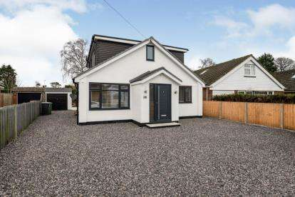 4 Bedrooms Bungalow for sale in Denmead, Waterlooville, Hampshire
