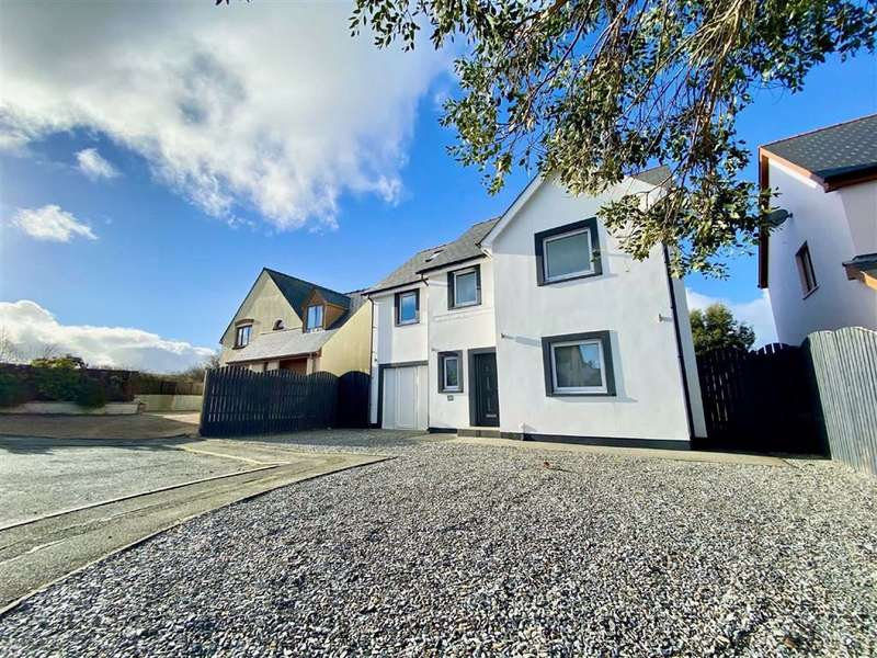 5 Bedrooms Detached House for sale in Llain Drigarn, CRYMYCH, Pembrokeshire