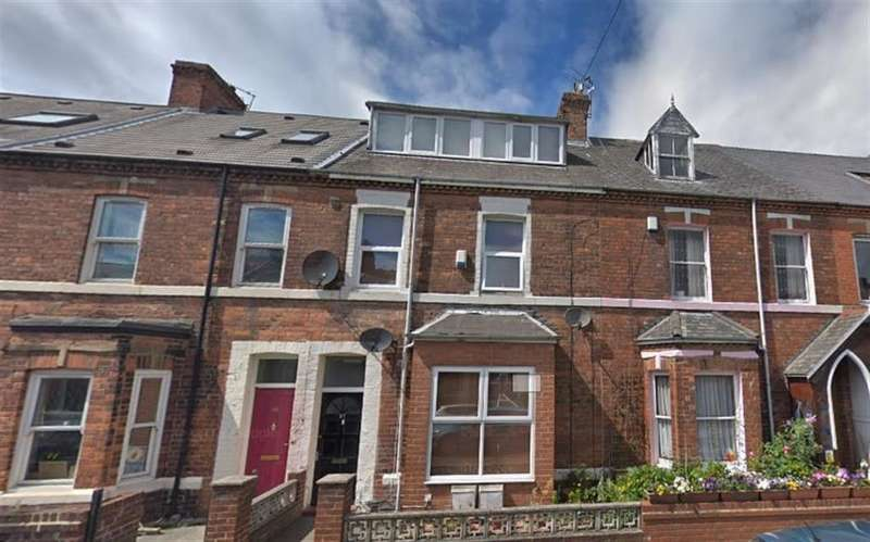 8 Bedrooms Terraced House for rent in Falmouth Road, Heaton, Newcastle Upon Tyne, NE6 5NT
