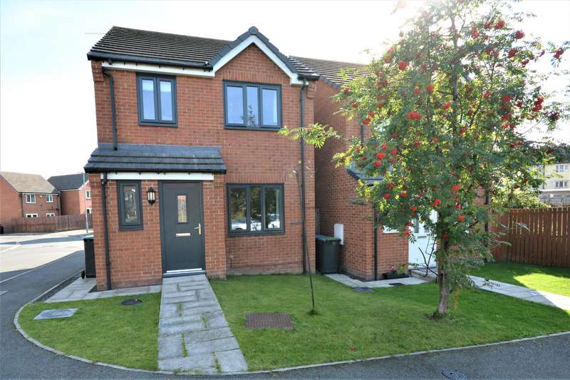 3 Bedrooms Detached House for rent in Lynas Place, Evenwood, Bishop Auckland, DL14 9RF