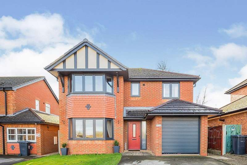 4 Bedrooms Detached House for sale in St. Annes Drive, Morda, Oswestry, Shropshire, SY10