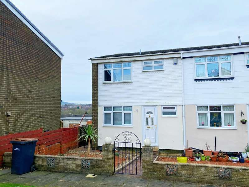 3 Bedrooms Semi Detached House for sale in Jubilee Crescent, Shildon