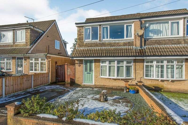 3 Bedrooms Semi Detached House for sale in Layton Road, Ashton-on-Ribble, Preston, Lancashire, PR2