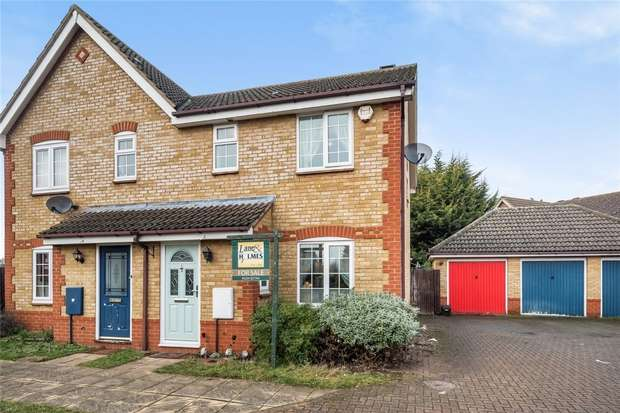 3 Bedrooms Semi Detached House for sale in Muirfield, Great Denham, Bedford