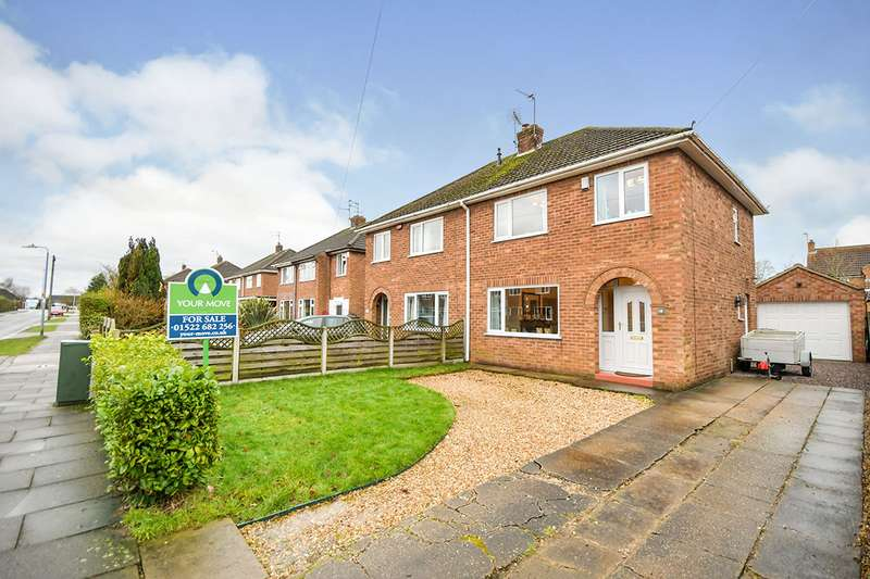 3 Bedrooms Semi Detached House for sale in St. Margarets Gardens, Lincoln, Lincolnshire, LN6