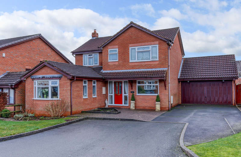 4 Bedrooms Detached House for sale in Hill Rise View, Lickey End, Bromsgrove, B60 1GA