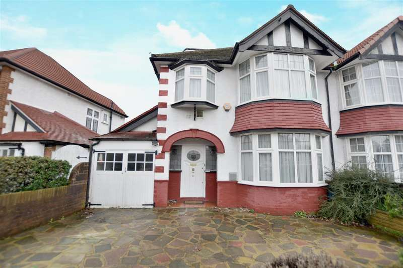 4 Bedrooms Semi Detached House for sale in Penwerris Avenue, Osterley