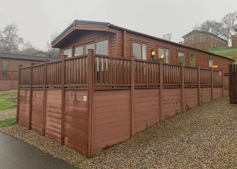 3 Bedrooms Lodge Character Property for sale in Badgers Retreat Park, North Yorkshire