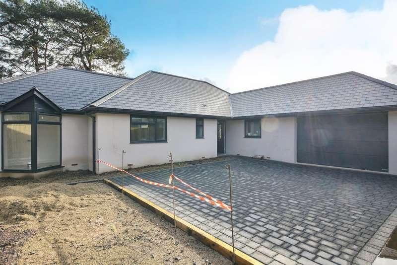 3 Bedrooms Detached Bungalow for sale in Woodlinken Drive, Verwood