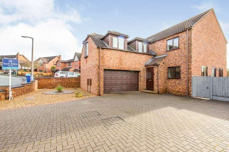 4 Bedrooms Detached House for sale in Terrington Drive, Newcastle, ST5