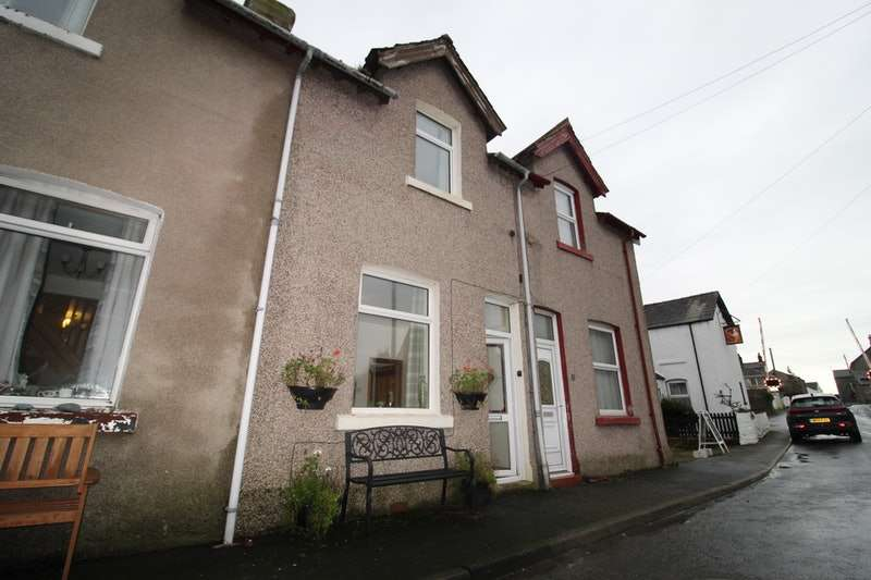 3 Bedrooms Terraced House for sale in Main Street, Silecroft, Lake district, Cumbria, LA18