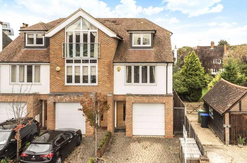 4 Bedrooms Semi Detached House for sale in Camphill Road, West Byfleet, Surrey, KT14
