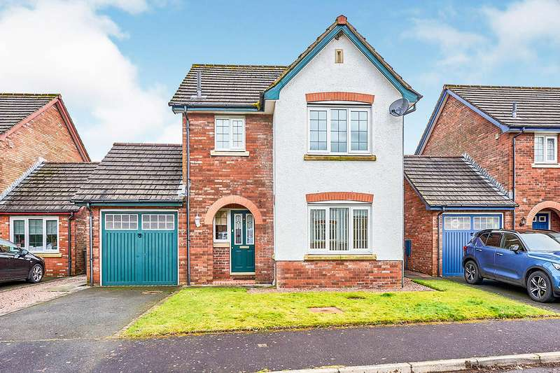 3 Bedrooms Detached House for sale in Willow Grove, Heathhall, Dumfries, Dumfries and Galloway, DG1