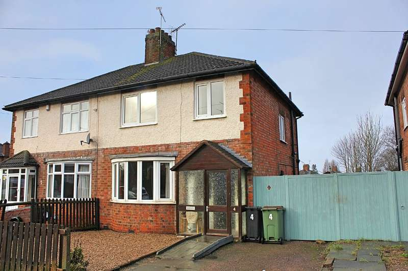 3 Bedrooms Semi Detached House for sale in Willow Park Drive, Wigston