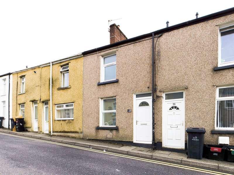 2 Bedrooms Terraced House for sale in Tillery Street, Abertillery