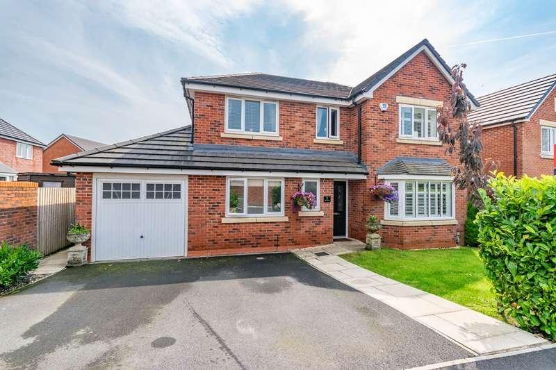 4 Bedrooms Detached House for sale in Duckworth Avenue, Wrea Green, Preston, PR4