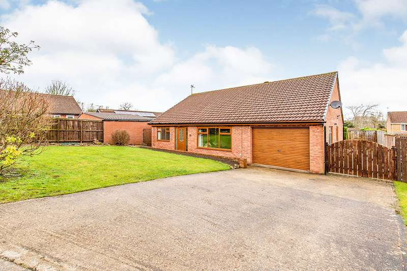 3 Bedrooms Detached Bungalow for sale in Foresters Path, School Aycliffe, Newton Aycliffe, Durham, DL5
