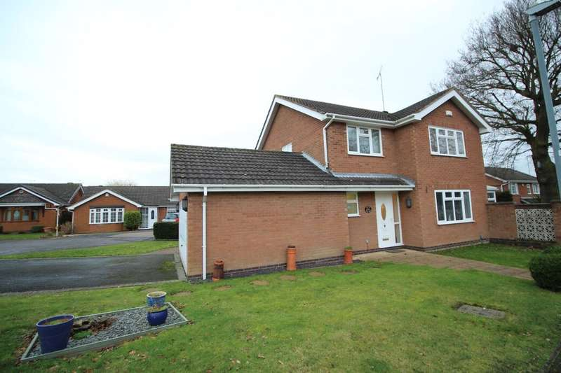 4 Bedrooms Detached House for sale in Silver Birch Avenue, Bedworth, CV12