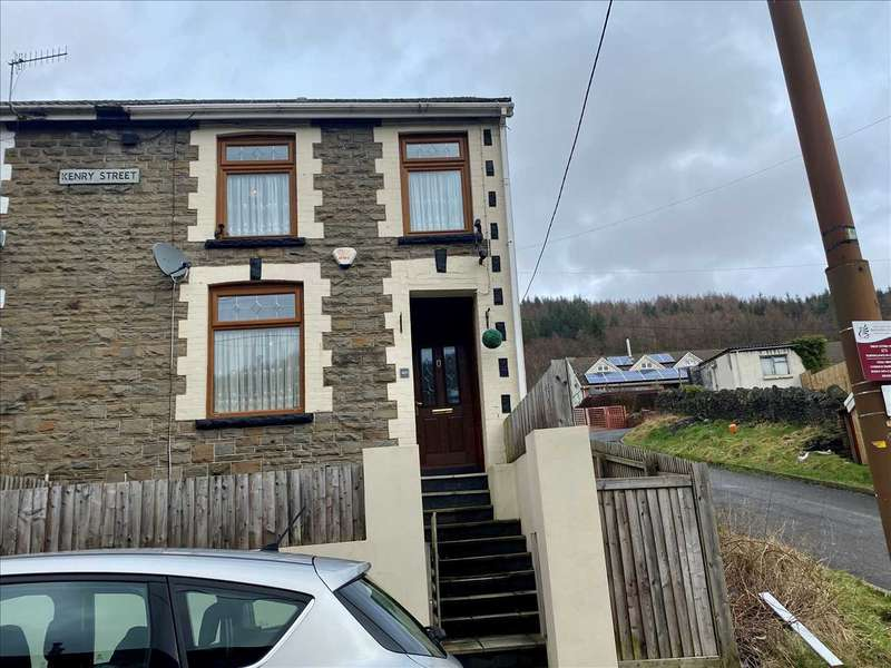 4 Bedrooms End Of Terrace House for sale in Kenry Street, Treorchy