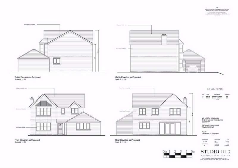 4 Bedrooms Detached House for sale in Heath Fold, Glossop