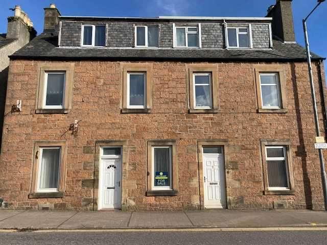 1 Bedroom Flat for sale in (North Most), Hazelburn, 56 Milknowe, Campbeltown