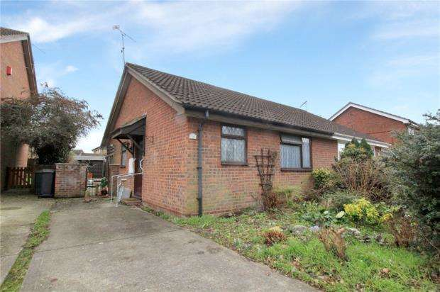 2 Bedrooms Semi Detached Bungalow for sale in Semer Close, Stowmarket, Suffolk