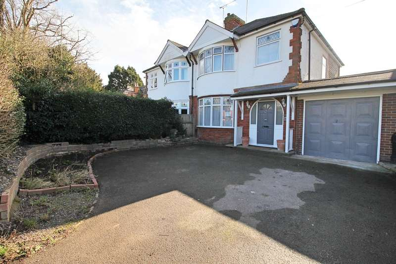 3 Bedrooms Semi Detached House for sale in Granville Road, Wigston
