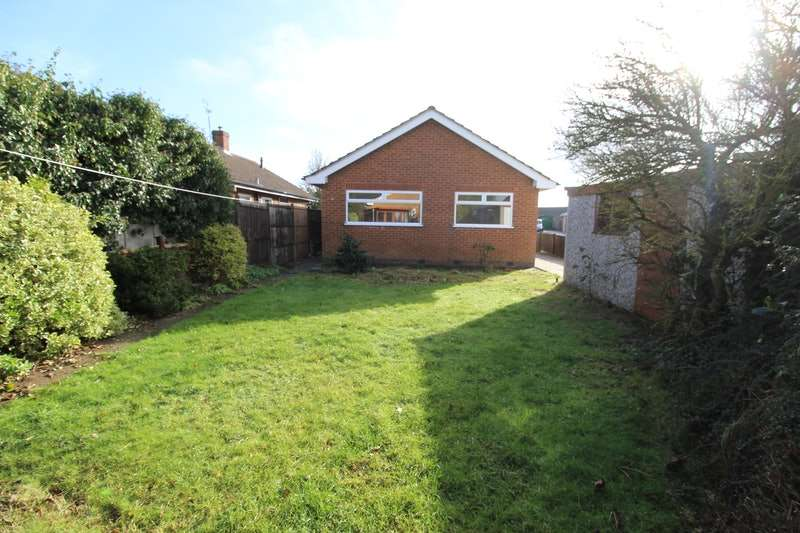 2 Bedrooms Bungalow for sale in Revesby Drive, Skegness, Lincolnshire, PE25