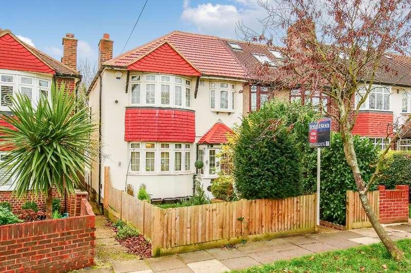 3 Bedrooms End Of Terrace House for sale in Hillcross Avenue, Morden, Surrey, SM4 4BU