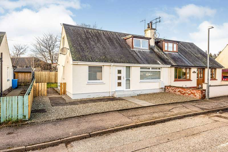 2 Bedrooms Semi Detached House for sale in Fairmuir Road, Muir of Ord, Highland, IV6