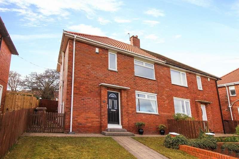 3 Bedrooms Semi Detached House for sale in Sherwood View, Wallsend