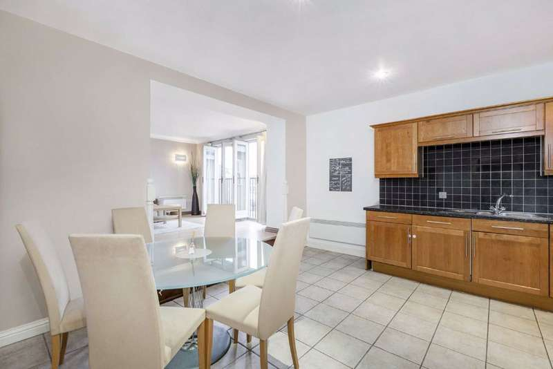 2 Bedrooms Flat for sale in Clapham Park Road, Clapham, London