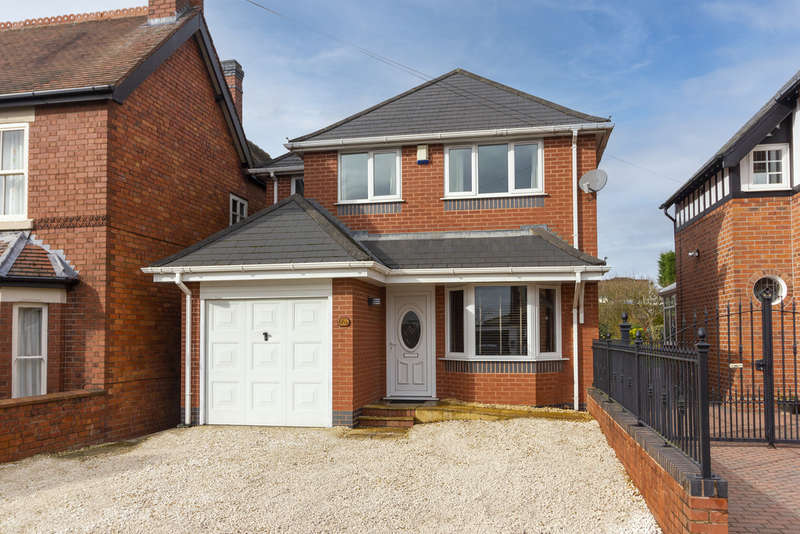 4 Bedrooms Detached House for sale in Allport Road, Cannock, Staffordshire