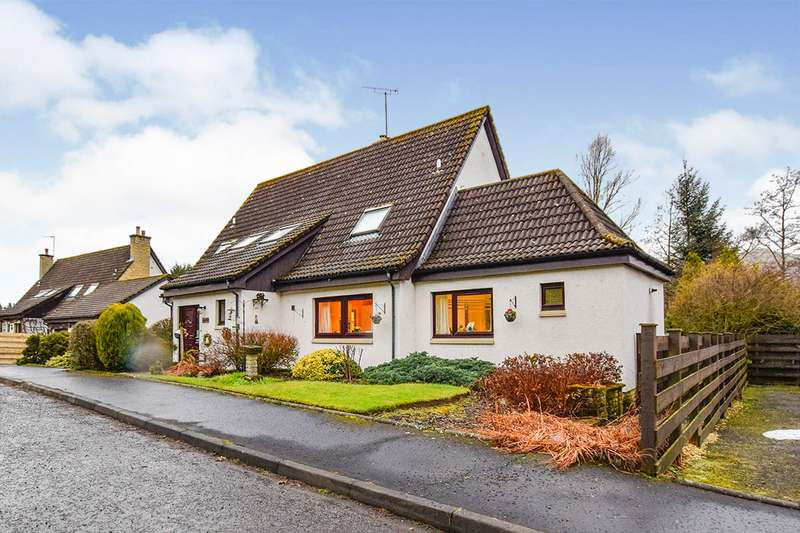 4 Bedrooms Detached House for sale in Muckhart, Dollar, Clackmannanshire, FK14