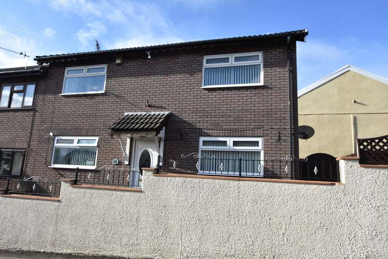 4 Bedrooms Semi Detached House for sale in Pant Street, Aberbargoed, Bargoed, CF81