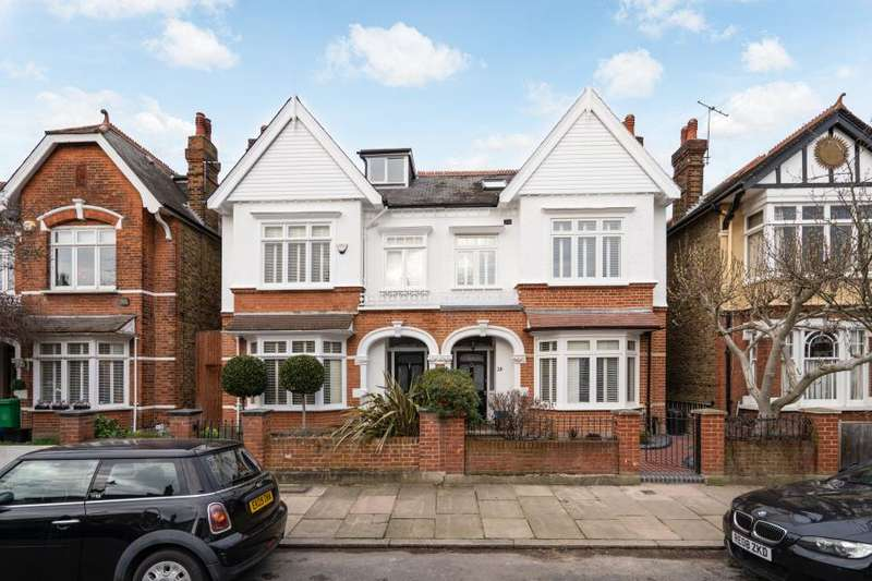 4 Bedrooms Semi Detached House for sale in Maze Road, Kew, TW9