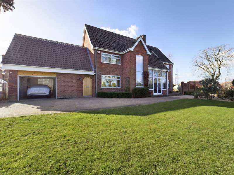 4 Bedrooms House for sale in Main Street, Thorpe-on-the-Hill, Lincoln, LN6