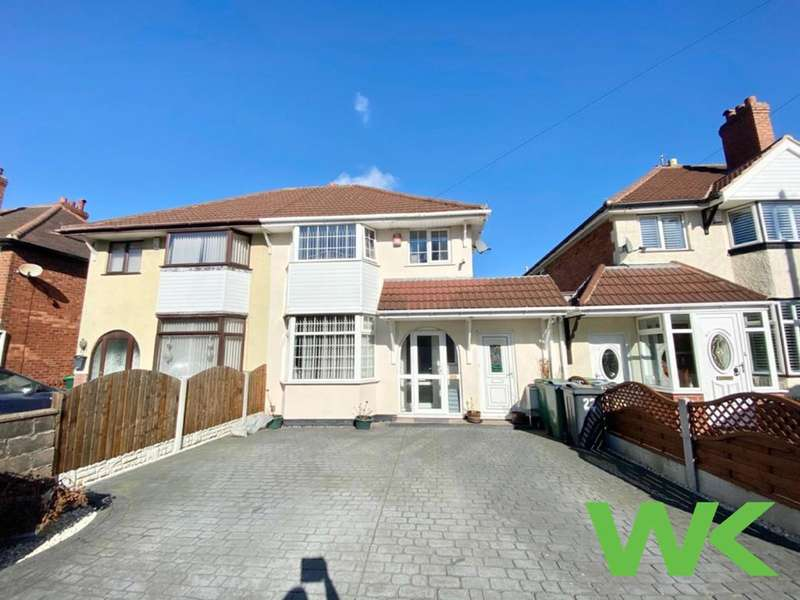 3 Bedrooms Semi Detached House for sale in Lyndhurst Road, West Bromwich, B71