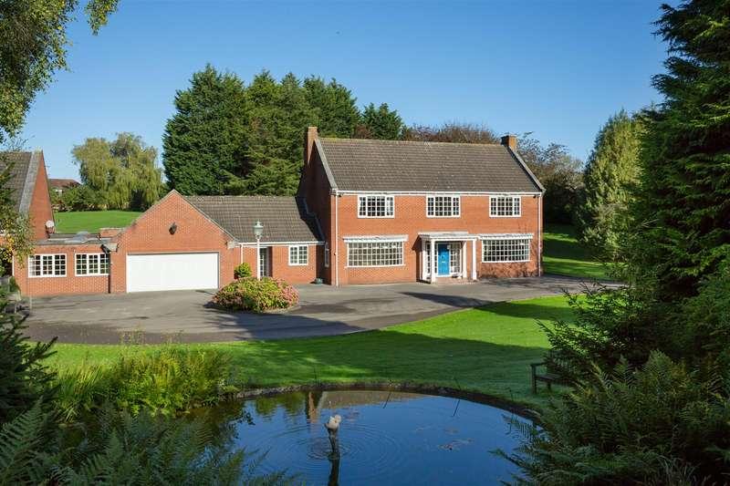 4 Bedrooms Detached House for sale in Garth Ends Road, Bishop Burton, Beverley
