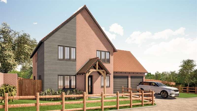 4 Bedrooms Detached House for sale in Weller House, One Elvington Lane, Hawkinge