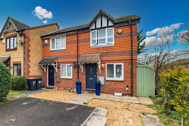 2 Bedrooms End Of Terrace House for sale in Clover Avenue, Bedford, MK41 0TT