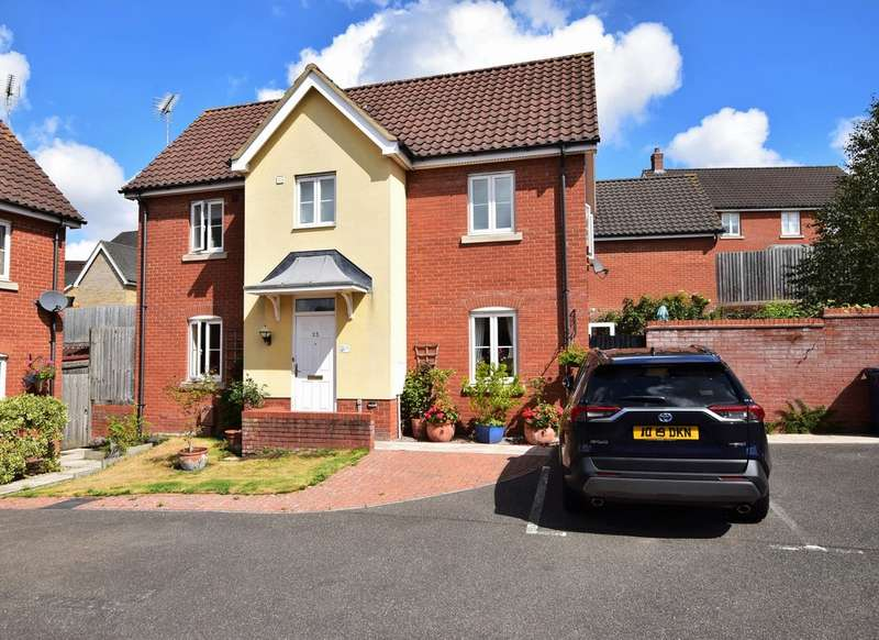 3 Bedrooms Detached House for sale in Hales Barn Road, Haverhill