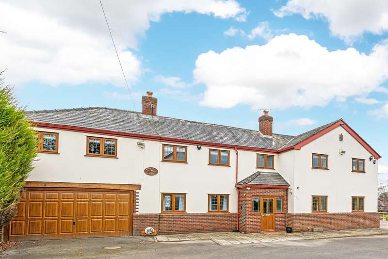 5 Bedrooms Detached House for sale in Birch Tree Farm, Red Lane, Appleton, Warrington, Cheshire
