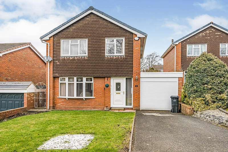 4 Bedrooms Detached House for sale in Feredays Croft, Sedgley, Dudley, West Midlands, DY3