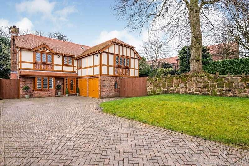 5 Bedrooms Detached House for sale in Ingleholme Gardens, Eccleston Park, Prescot, Merseyside, L34