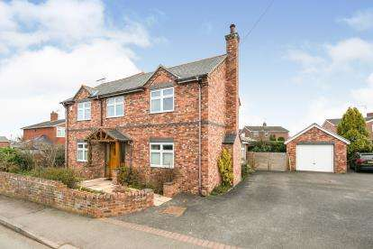 4 Bedrooms Detached House for sale in Main Road, Higher Kinnerton, Chester, Flintshire, CH4